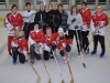 1. Pond-Hockey-Training der Frauen
