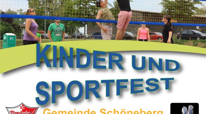 Sommerliches Kinder- & Sportfest steht vor der Tür