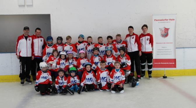 Eissaison unserer Kids gestartet